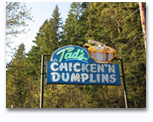 Tads chicken and dumplings